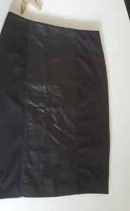 Black pencil skirt by Rampage